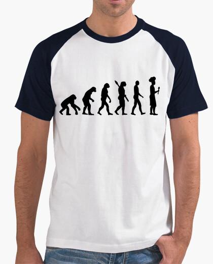 Camiseta evolución cocinero