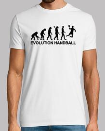 evolución de balonmano
