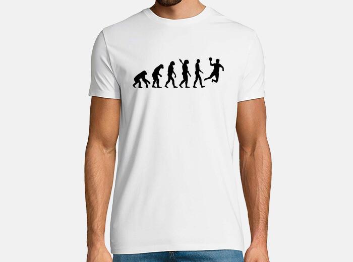 Camiseta evolución de balonmano - nº 986241 - Camisetas latostadora 4ae12e577fab6