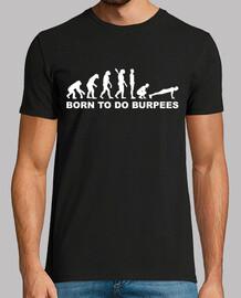 evolución de burpees