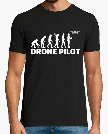 Camiseta evolución de drones