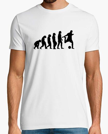 Camiseta evolución de fútbol