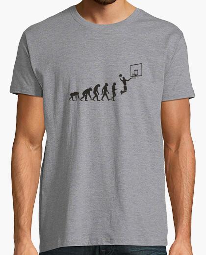 Camiseta evolución de la cesta