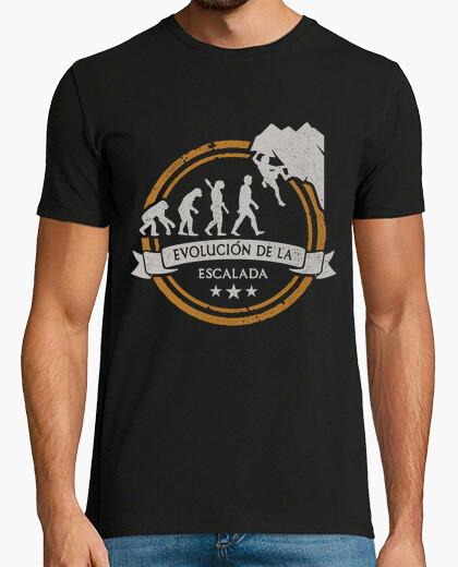 Camiseta Evolución de la Escalada 1