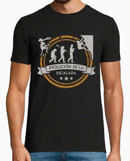 Camiseta Evolución de la Escalada 2