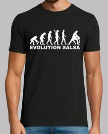 evolución de la salsa