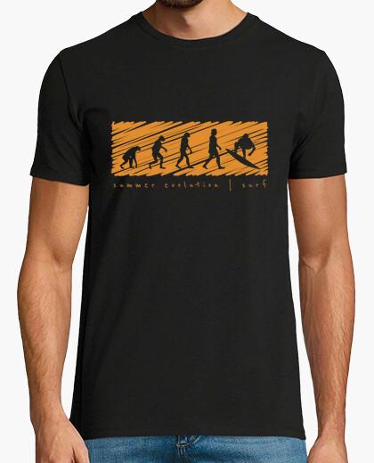 Camiseta Evolución de Verano Surf