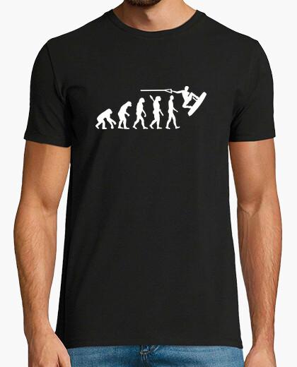 Camiseta evolución de wakeboard