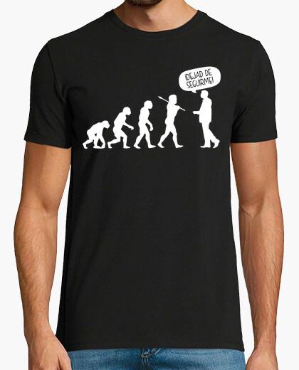 Camiseta Evolución ¡Dejad de Seguirme!
