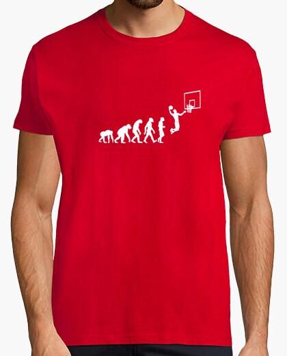 Camiseta evolución del baloncesto 2