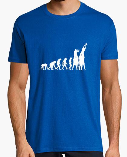 Camiseta evolución del rugby