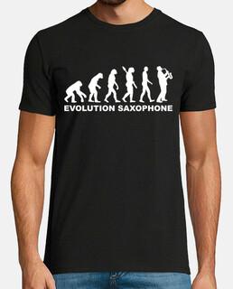 evolución del saxofón