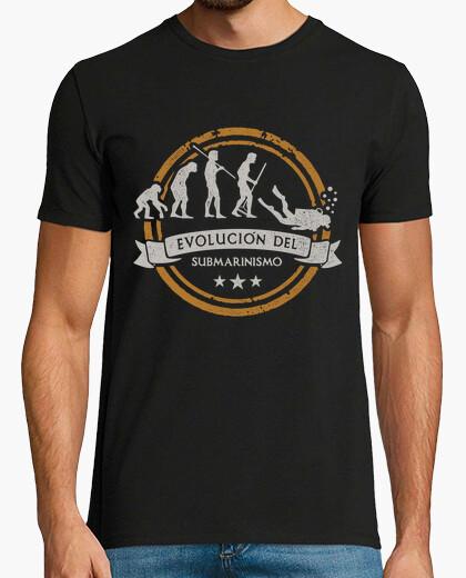 Camiseta Evolución del Submarinismo Buceo