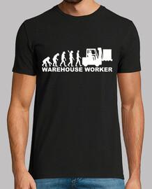 evolución del trabajador de almacén