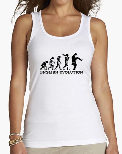 Camiseta evolución inglés