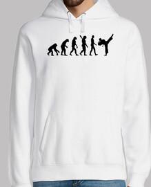 evolución karate kickboxing