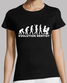 evolución mujer dentista