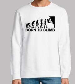 evolución nacida de la escalada