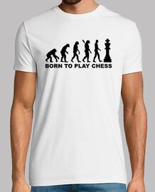 evolución nacido para jugar al ajedrez