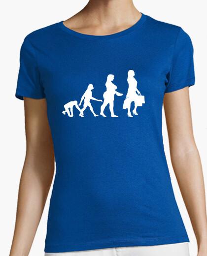 Camiseta Evolución shopper