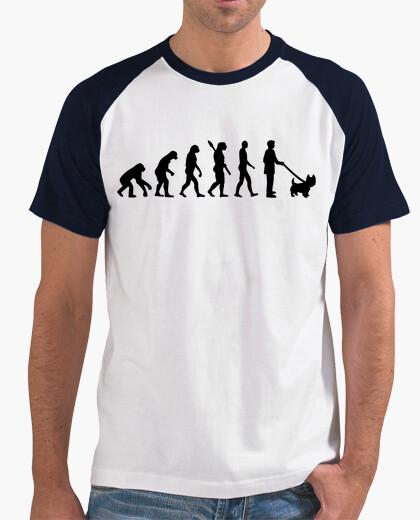 Camiseta evolución westie