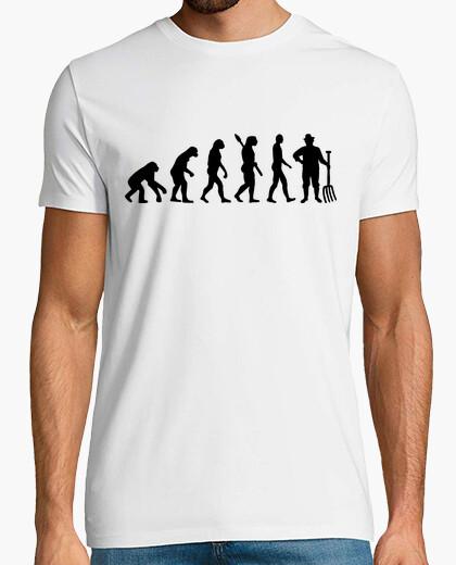 Tee-shirt évolution agriculteur