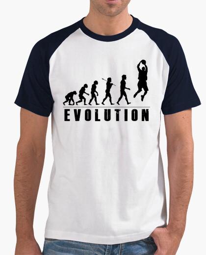 Camiseta Evolution Baloncesto Negro