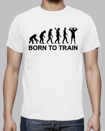 Evolution Bodybuilding born to train