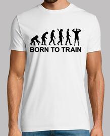 evolution bodybuilding zum trainieren geboren