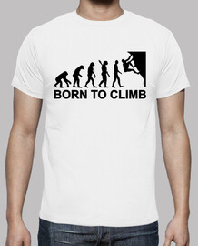 Evolution born to climbing