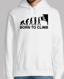evolution born to climbing