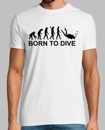 evolution born to dive diving