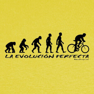 T-shirt Evolution cas