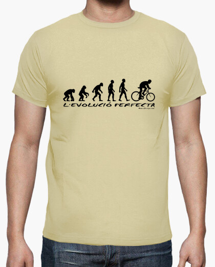 Camiseta Evolution cat