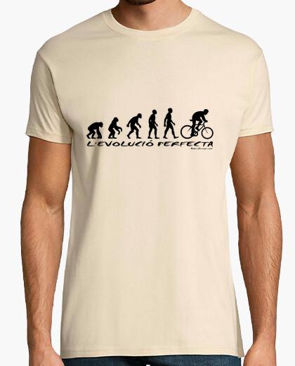 Evolution cat t-shirt