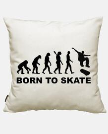 évolution de planche à roulettes né à patiner