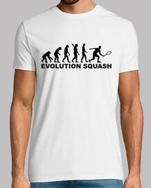 évolution de squash