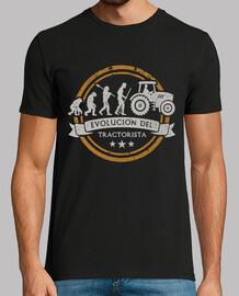 évolution du conducteur du tracteur