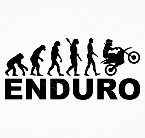 tee-shirt  u00e9volution enduro