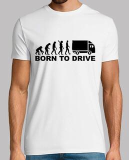 evolution geboren, lkw zu fahren