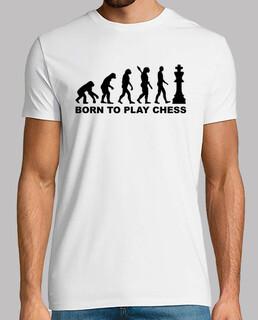 evolution geboren, um schach zu spielen