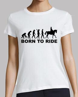 evolution geboren zu reiten