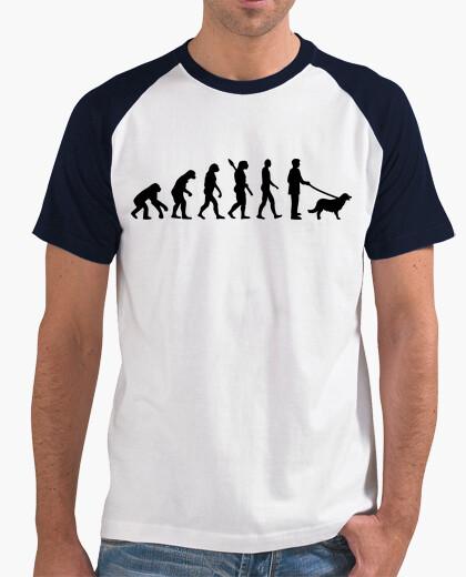 T-Shirt evolution goldener retriever