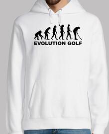 évolution golf