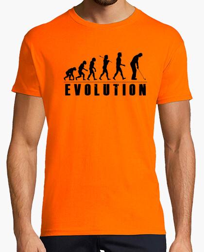 Camiseta Evolution Golf Negro
