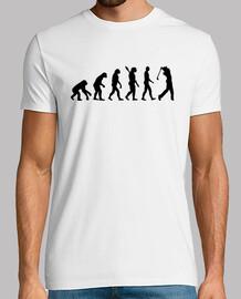 evolution golf player