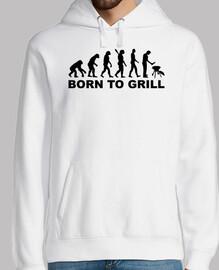 Evolution Grill zum Grillen geboren