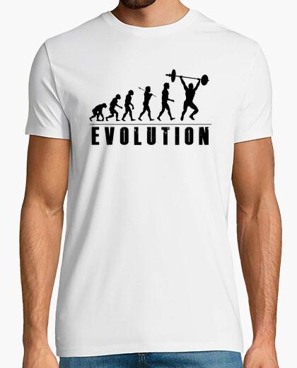 Camiseta Evolution Halterofilia Negro