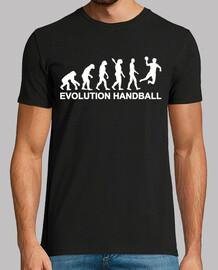 évolution handball