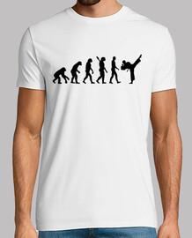 evolution karate kickboxen